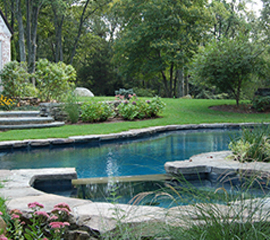 Natural Swimming Pool Builder Westchester County, NY