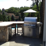 Outdoor Kitchen Grill & Countertop